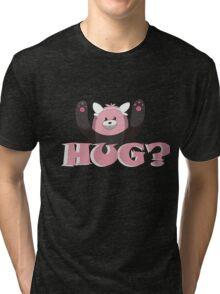 Hug for Bewear? Tri-blend T-Shirt