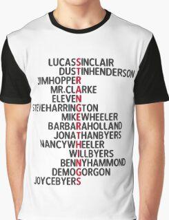 Stranger Things <3 Graphic T-Shirt