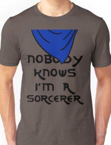 Nobody knows I'm a sorcerer - 2 Unisex T-Shirt