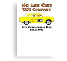Ho Lee Chit Taxi Company Canvas Print