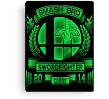 Smash Bros Swordfighter Canvas Print