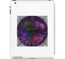 Purple Mosaic Circle iPad Case/Skin