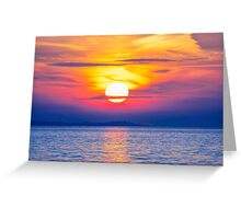 Striking Skies Greeting Card
