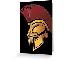 Sparta Helmet Logo Hoodie MMA UFC Boxing Fight Train Fitness Great Gift Idea Greeting Card