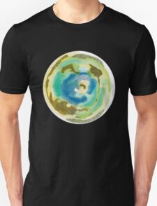 Not Quite Earth Abstract Map Unisex T-Shirt