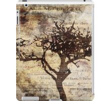 Trees sing of Time - Vintage 3 iPad Case/Skin