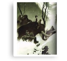 mammoth game of thrones Canvas Print