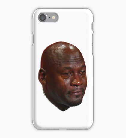 Michael Jordan crying iPhone Case/Skin