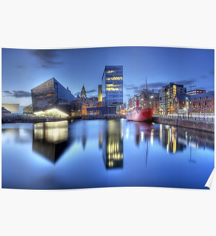Canning Dock HDR Poster