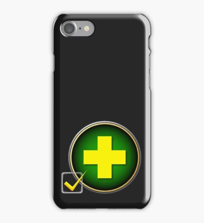 SELECT YOUR ROLE: TANK iPhone Case/Skin