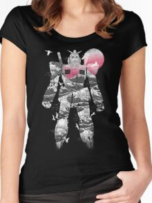 Anime Wave Women's Fitted Scoop T-Shirt