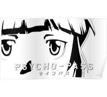 Psycho-Pass Akane Poster