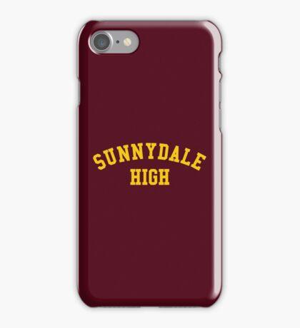 sunnydale high school sweatshirt iPhone Case/Skin
