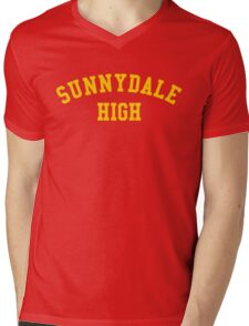 sunnydale high school sweatshirt Mens V-Neck T-Shirt