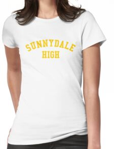 sunnydale high school sweatshirt Womens Fitted T-Shirt