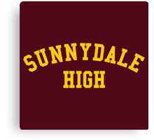 sunnydale high school sweatshirt Canvas Print