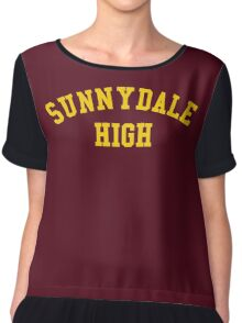 sunnydale high school sweatshirt Chiffon Top
