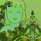 Green Sea Girl by SusanSanford