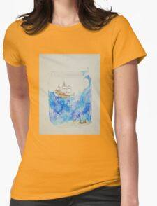 Ship in a jar Womens Fitted T-Shirt