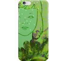 Green Sea Girl iPhone Case/Skin