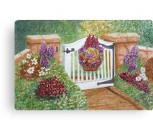 """WELCOME TO MY GARDEN"" Canvas Print"