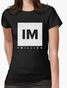 1 million dancer Womens Fitted T-Shirt