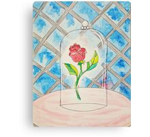 Beauty and the Beast Rose Canvas Print