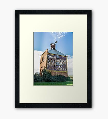 """ Chicory Kiln"" Colour Framed Print"
