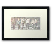 BTS Most Beautiful Moments in Life Framed Print