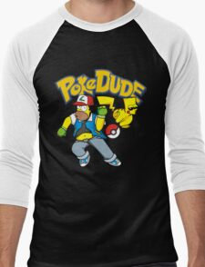 poke dude Men's Baseball ¾ T-Shirt