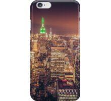 Manhattan Skyline at Dusk iPhone Case/Skin