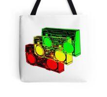 Ghetto Blasta Design Tote Bag