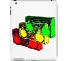 Ghetto Blasta Design iPad Case/Skin