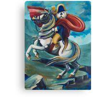 Napoleon Otterparte Canvas Print