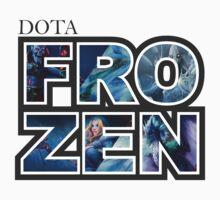 Dota 2 - Frozen Serie Kids Tee