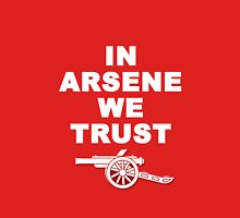 WHITE IN ARSENE WE TRUST Unisex T-Shirt