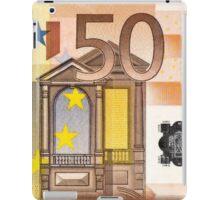 Fifty Euro Bill iPad Case/Skin
