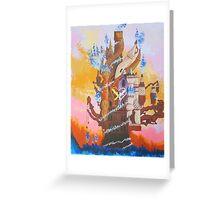 Kingdom Hearts - Hollow Bastion  Greeting Card