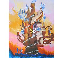 Kingdom Hearts - Hollow Bastion  Photographic Print