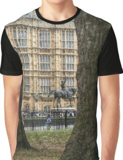 Richard I, Coeur de Lion in the Old Palace Yard Graphic T-Shirt