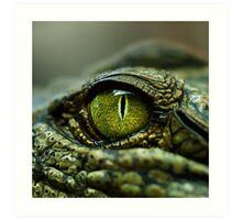 Eye of the Crocodile [Print & iPad Case] Art Print