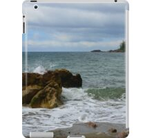 The Rock and The Ocean iPad Case/Skin
