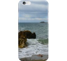The Rock and The Ocean iPhone Case/Skin