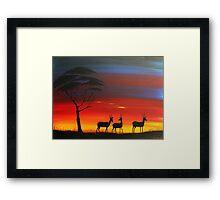 Antelope Masai Mara Framed Print