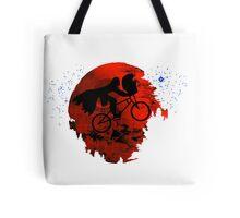 ET and Darth Vader Go Home Design Tote Bag