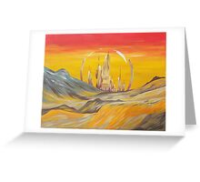 To Gallifrey  Greeting Card