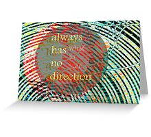 Mundy quote #3 Greeting Card