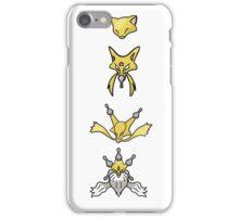 Abra's Evolution iPhone Case/Skin