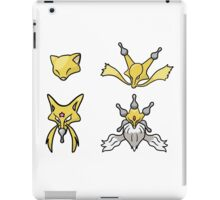 Abra's Evolution iPad Case/Skin