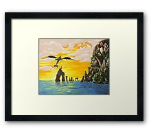 How to train your Dragon Fanart Framed Print